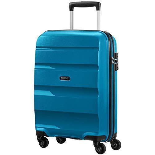 American Tourister Bon Air Spinner S Handgepäck, 55 cm, 31.5 L, Blau (Seaport Blue)