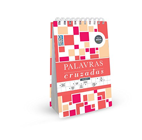 Medium Spiral Cocktail Crossword Book