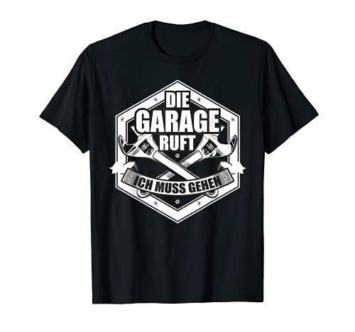 Herren Kfz-Mechaniker T Shirt Autowerkstatt Automechaniker Geschenk T-Shirt