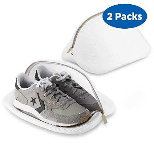 ecooe 2 Stück Premium Wäschenetz für Schuhe/Sneaker, Multi Schutz Wäschenetz Wäschebeutel für die Reise (6)