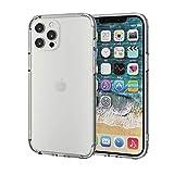 エレコム iPhone 12 Pro Max ケース Qi充電対応 ハイブリッドバンパー 耐衝撃 クリア PM-A20CH……