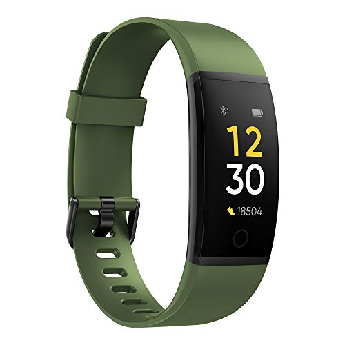 Realme Band (Green) - Full Colour Screen with Touchkey, Real-time Heart Rate Monitor, in-Built USB Charging, IP68 Water Resistant 8