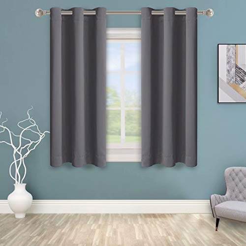 BONZER Grommet Blackout Curtains for Bedroom - Thermal Insulated,...