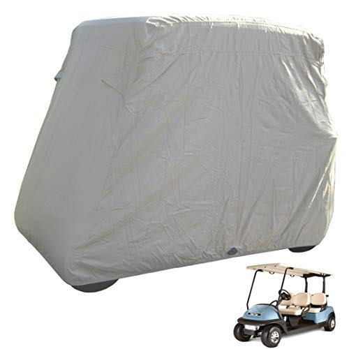 Deluxe 4 Seater Golf Cart Cover roof 80' L (Grey, Taupe, or...