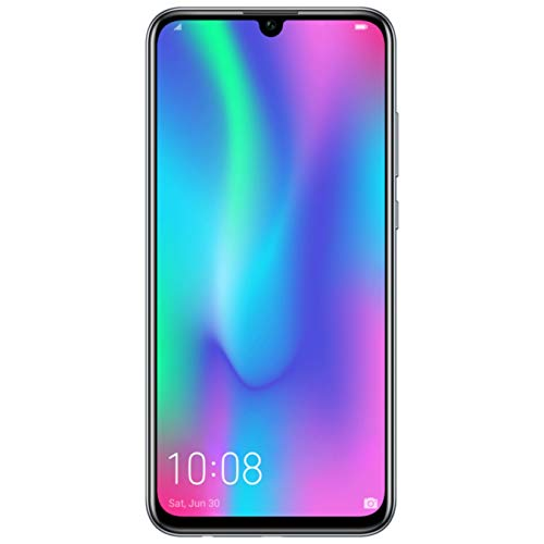 HONOR 10 Lite Dual SIM, 64 GB storage, 24 MP Front Camera with 6.21 Inch Full View Display, UK Official Device – Midnight Black