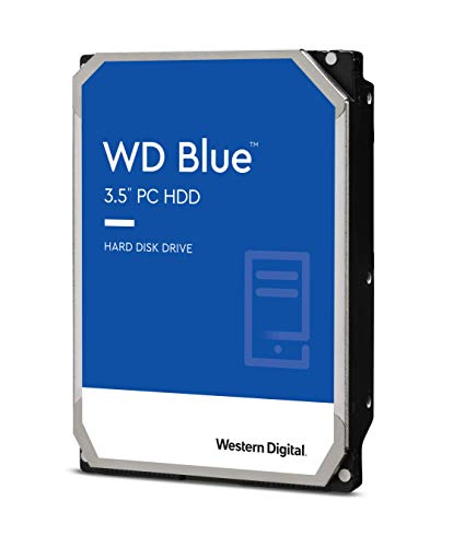 WD WD40EZRZ Blu Hard Disk Desktop da 4 TB, 5400 RPM, SATA 6 GB/s, 64 MB Cache, 3.5 '
