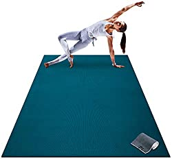 Premium Large Barefoot Exercise Mat