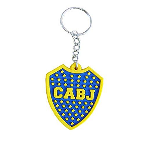Boca Juniors Key, Anello Unisex, Blue, Taglia Unica