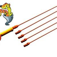 FlexiSnake Drain Weasel Sink Snake - Drain Clog Remover Kit Includes...