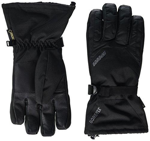 Gordini Men's Standard Gore Gauntlet Glove, Black, Large