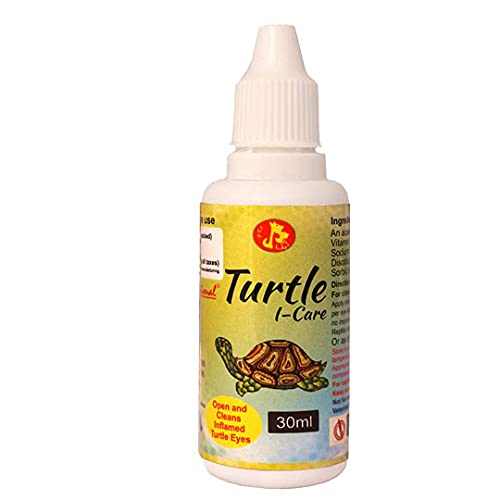 Pet Care International (PCI) Turtle i-Care Eye Drop for Swollen, Inflamed and Infected Eye Care of Healthy Turtle Healthcare (30ml)
