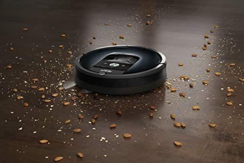 41bBqWUIcRL [SUPER Bon Plan] iRobot Roomba 981, aspirateur robot, idéal pour les tapis avec forte puissance d'aspiration