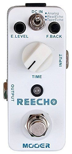 Mooer Reecho Electric Guitar Digital Delay Pedal