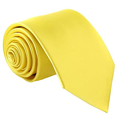Material:Microfiber. Texture:Silky smooth,glossy,soft and thick. Tie size:58''x 3.35''. Applications:Daily dress,party,birthday,wedding,office,meeting,father's day presents. 100% Handmade.Good quality and nice weighted .Can be steam ironed with low t...