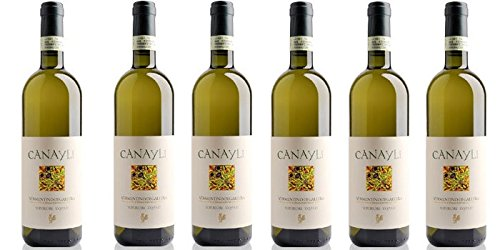 6 bottiglie di Canayli - Vermentino di Gallura DOCG superiore cl.75