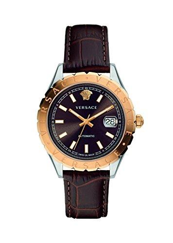 Versus Versace Damen Analog Automatik Uhr mit Leder Armband VZI020017