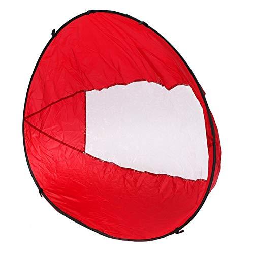 Faltbare Kajak Downwind Segel, Paddle Board Segel Sup Paddle Board Instant Popup & Easy Setup & schnell bereitstellt, Wind Sail, Kajak Kanu Zubehör