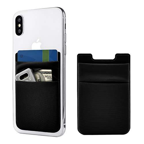 Newseego 2 Pack de Tarjeta de teléfono Celular Wallet [Double...