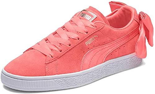 Puma Suede Bow Wn's, Zapatillas para Mujer, Rosa (Shell Pink-Shell Pink), 38 EU