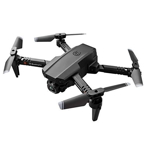 Drone con telecamera per adulti, Mini WiFi1080P 4K HD Dual Camera Drone con giroscopio a 6 assi, Quadricottero RC Drone pieghevole con mantenimento dell'altitudine, Modalit senza testa, Decollo