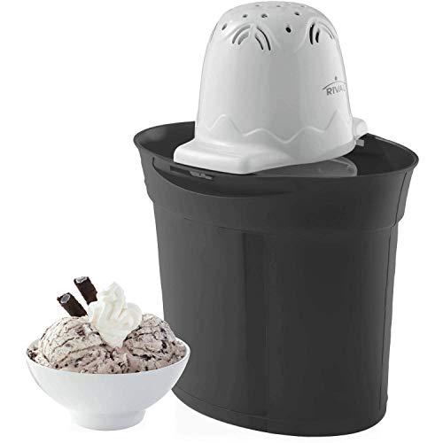 Rival BK04-BK Frozen Delights 4 Quart Ice Cream Maker-BLACK, 4 Qt