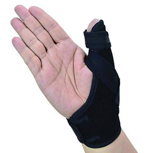 Daumenschiene Rechts für Links & Rechts, Arthritis oder Weichteilverletzungen, leicht und atmungsaktiv, stabilisierend und nicht restriktiv, US-Solid-Produkt (Größe s/m)