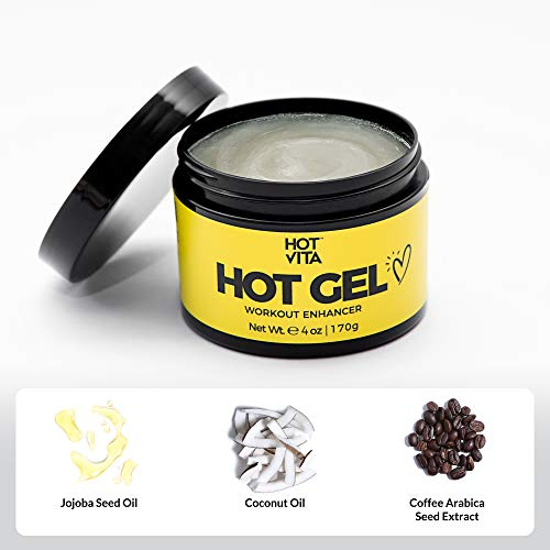 Hot Vita Hot Gel – Sweat Cream Workout Enhancer Belly Slimming Gel (4 oz) 7