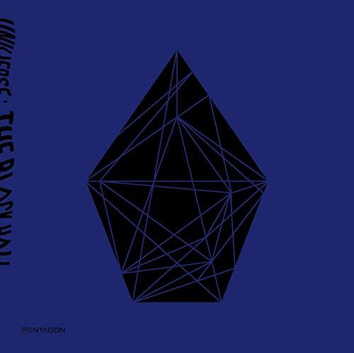 Cube PENTAGON - UNIVERSE : THE BLACK HALL (Vol.1) Album+Extra Photocards Set (DOWNSIDE ver.)