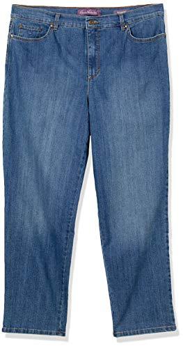 Gloria Vanderbilt Women's Petite Amanda-Classic Straight Leg Jean, Scottsdale Wash, 6P