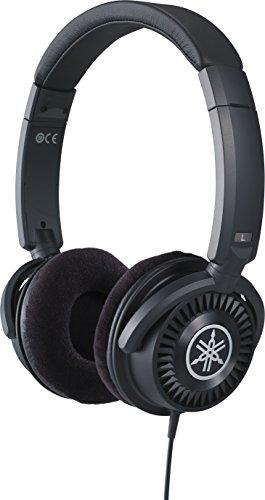 Yamaha HPH-150 - Auriculares supraaurales de diadema, cascos abiertos de respuesta plana, ajuste cómodo y sonido dinámico de calidad, para instrumentos digitales, color Negro