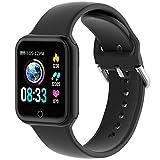 KUNGIX Montre Connectée, Montre Intelligente Homme Femme IP68 Smartwatch...