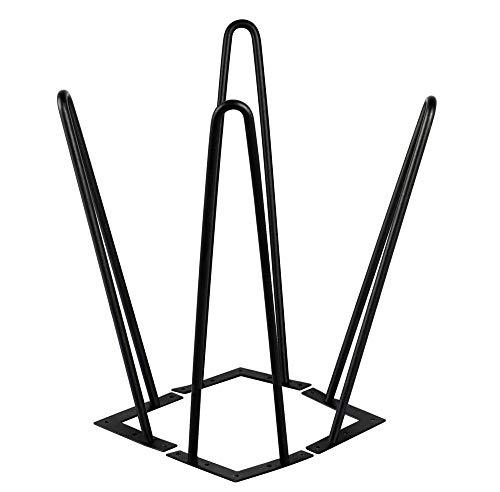 Yaheetech 4X Tischbein Tischgestell Möbelbein Haarnadelbeine Tischzubehör DIY 41cm, für Esstisch Couchtisch Schreibtisch