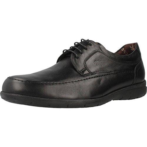 Fluchos Luca, Zapatos de Cordones Derby para Hombre, Negro (Negro 000), 42 EU