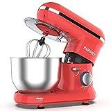KUPPET Robot Pâtissier 1300W,Robot Pâtissier avec Bol d'Acier...