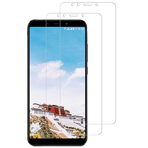 CNXUS [2-Pezzi Vetro Temperato Compatibile con Xiaomi Mi A2, Pellicola Protettiva Xiaomi Mi A2, Durezza 9H, Alta Trasparenza, Ultra Resistente, Anti-Graffi, Anti-Impronte