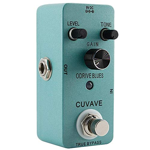 Guitar Effect Pedal Overdrive Based On Classic 90S Overload Blues Music Tone Overdrive