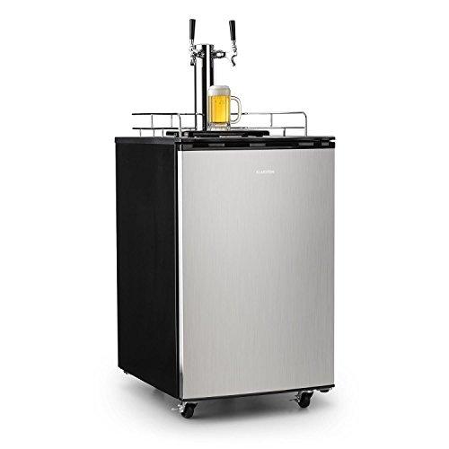 Klarstein Big Dispenser Double - Frigorifero Per Fusti di Birra e Bibite, Spillatore Integrato,...