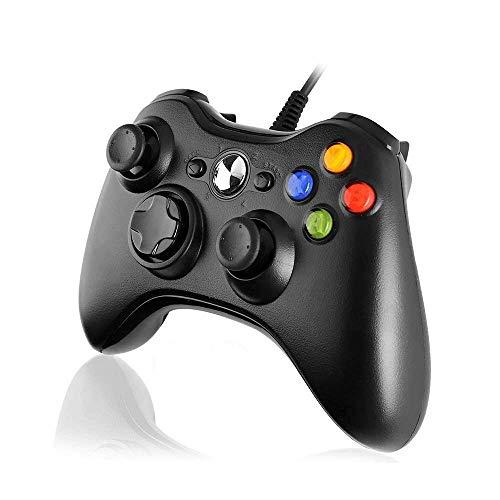 Diswoe Xbox 360 Mando de Gamepad, Controlador Mando USB de Xbox...