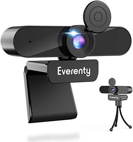 Webcam 1440P Full HD,webcam PC con Micrófono Estéreo,Cámara...