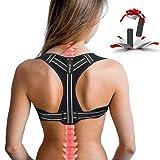 Posture Corrector for Women, Adjustable Back Posture Corrector for Men, Effective Comfortable Best Back Brace for Posture Under Clothes, Back Support Posture Brace for Shoulder and Back Pain Relief