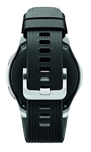 Samsung Galaxy Watch smartwatch (46mm, GPS, Bluetooth) – Silver/Black (US Version with Warranty)