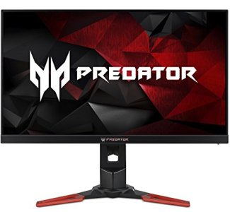 Acer Predator XB271HU Abmiprz 27-inch WQHD (2560x1440) NVIDIA G-SYNC Monitor (Display Port & HDMI Port, 144Hz),Black