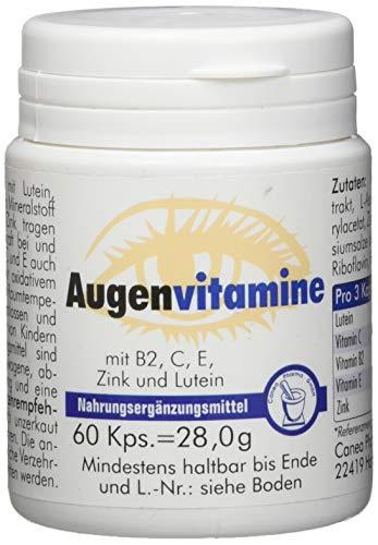 Pharma-Peter AUGENVITAMINE Kapseln, Nahrung für Ihre Augen, 60 Stück