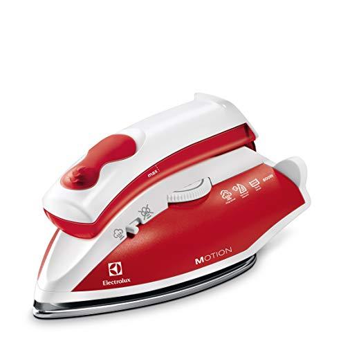 Electrolux EDBT800 Perfect Motion Ferro da Stiro a Vapore da Viaggio, 800 W, 920 g, Rosso