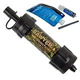 Sawyer Mini PointONE Wasserfilter für Outdoor Camping Wasseraufbereitung (SP107 Camouflage)