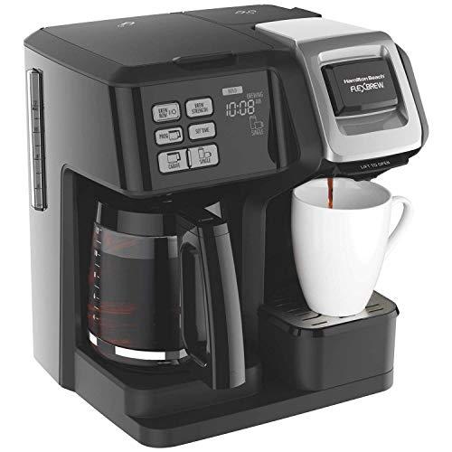 Hamilton Beach FlexBrew 2-Way Coffee Maker, Full-Pot or...