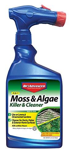 Bayer Advanced 704710B Moss and Algae Killer Ready-To-Spray, 32 oz
