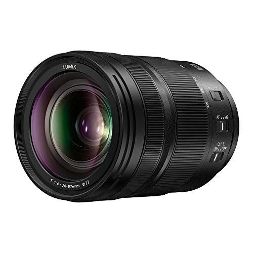 パナソニック LUMIX S 24-105mm F4 レンズ フルフレーム Lマウント 光学手ブレ補正 頑丈 防塵 防滴 凍結防止 パナソニック LUMIX Sシリーズ ミラーレスカメラ用 S-R24105 (USA)