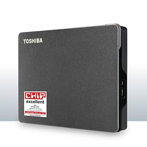 Toshiba Canvio Gaming Disco Duro Externo de 2TB con USB 3.2,...
