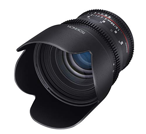 Rokinon DS50M-MFT Cine DS 50 mm T1.5 AS IF UMC Full Frame Cine Lens for Olympus & Panasonic Micro Four Thirds